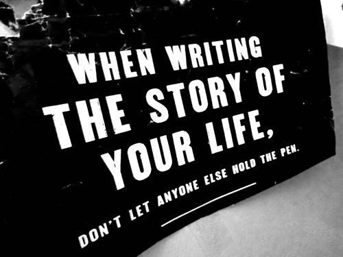 inspirational picture quotes write your story