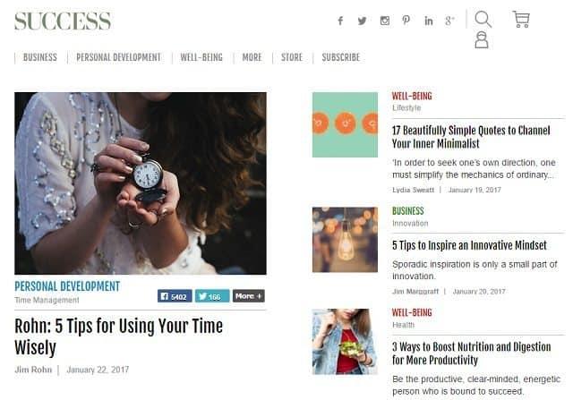 success blog