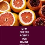 نقاط الصلاة Mfm لصالح