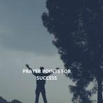 Gebed vir sukses