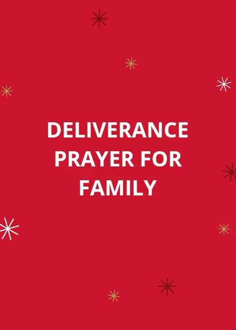80 Deliverance Prayer From Family Bondage | PRAYER POINTS