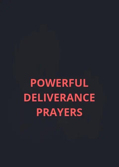 Kragtige gebede vir bevryding