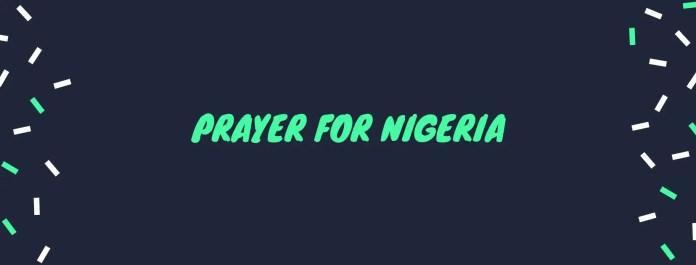 Millat nigeriya uchun ibodat