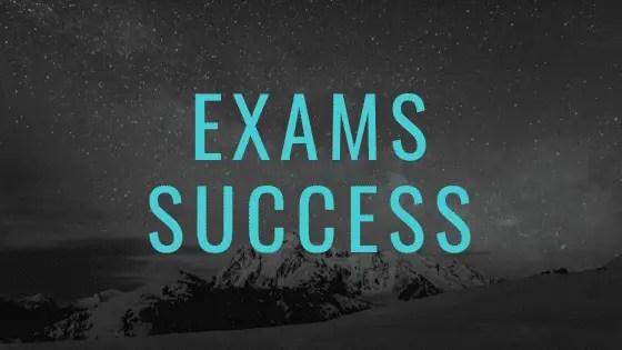 Pontos de oração para se preparar para um exame
