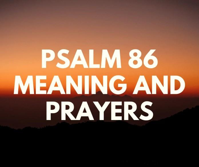 Salm 86 Yr Adnod Neges Trwy Adnod
