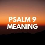 PSALM 9 PRENTE