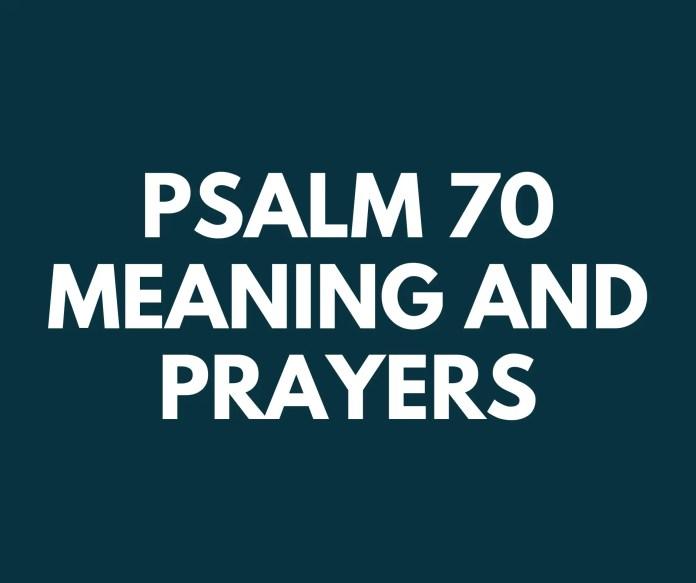 Salm 70 fis-sens poeżiji