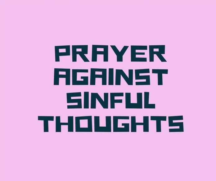 Modlitwy przeciw pożądliwym myślom