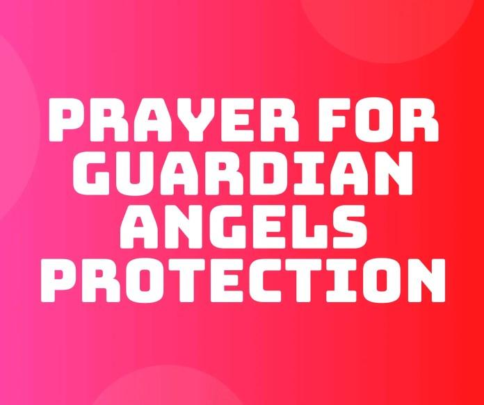 守護天使保護の祈り