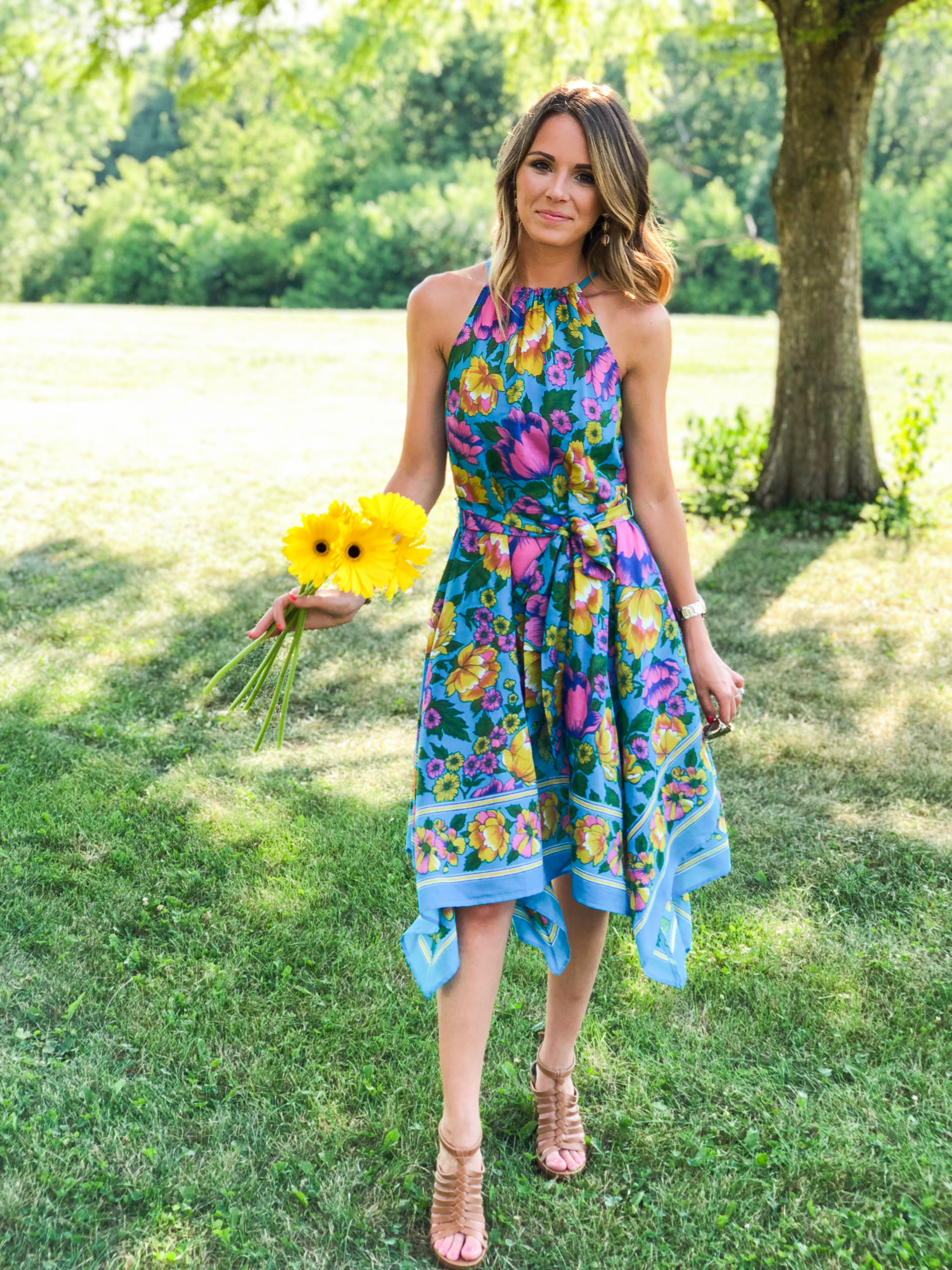 Floral Birthday Dress-9