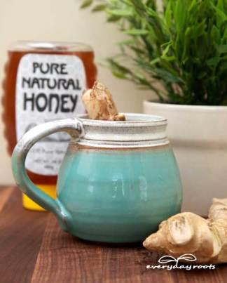 sore throat ginger tea