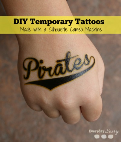 diy fun temporary tattoos