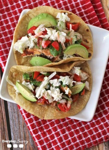 simple easy fish tacos recipe