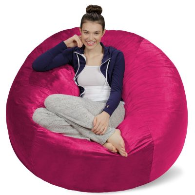 easy chairs with footrests bedroom reading chair ottoman super fun tween girl gift ideas - everyday savvy