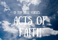 19 top Bible verses-acts of faoth