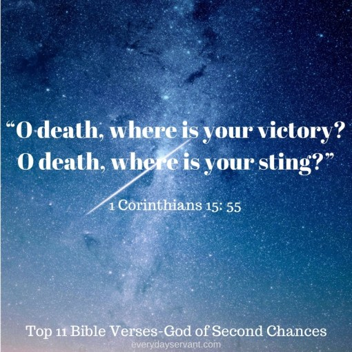 Top 11 Bible verses-God of second chances
