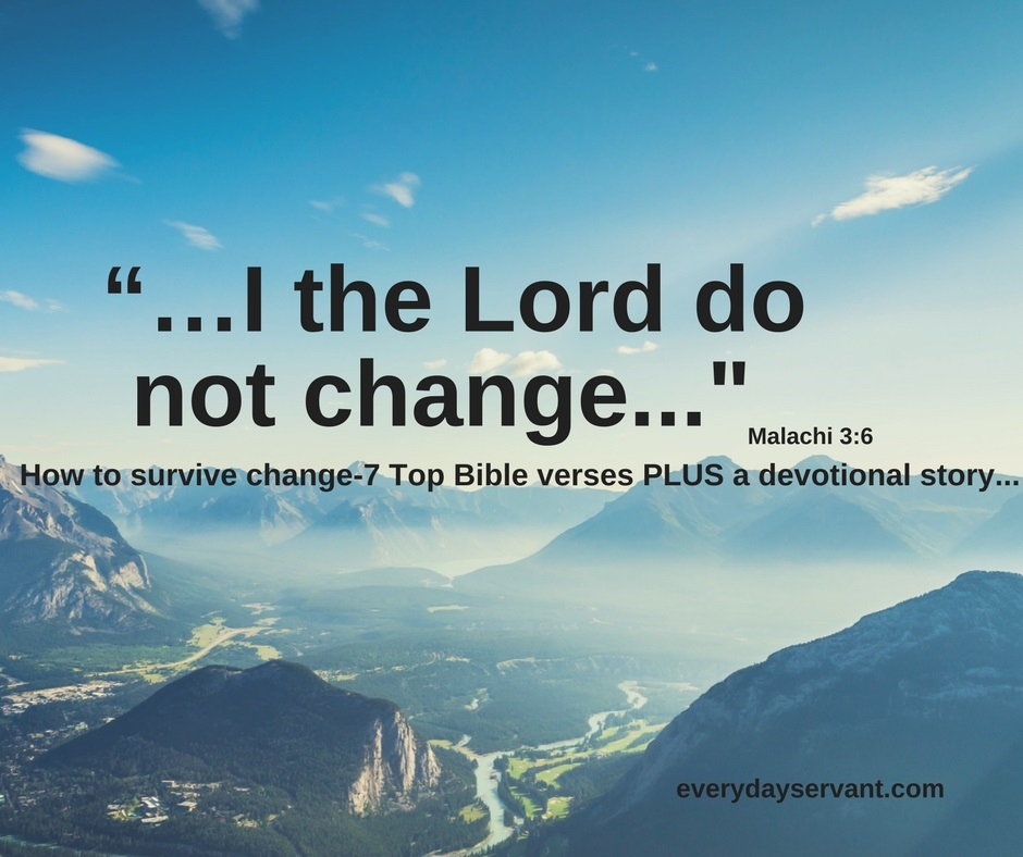 When God changes everything