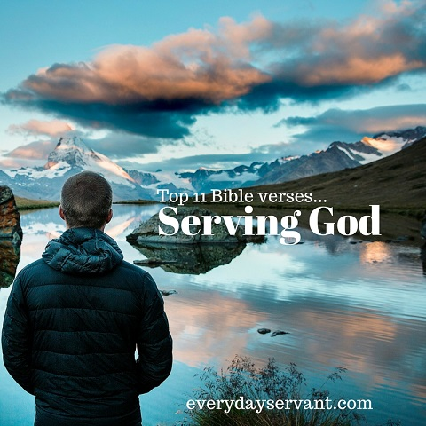 Bible verses on serving