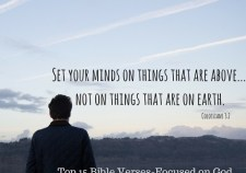 Top 15 Bible verses-Focused on God