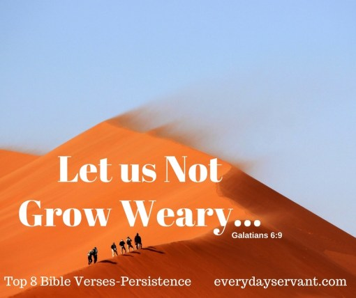 Top 8 Bible verses-persistence