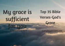 Top 35 Bible Verses-Gods Grace