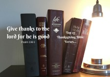 Top 27 Thanksgiving Bible Verses