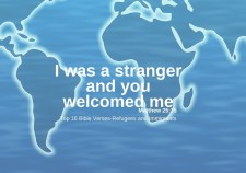Top 16 Bible verses-Refugees and immigrants