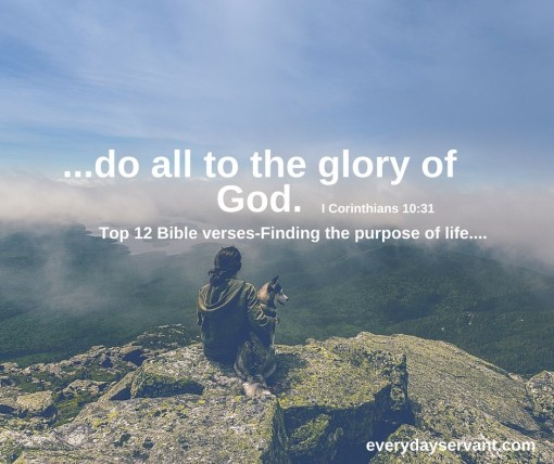 Top 12 Bible verses-The purpose of life