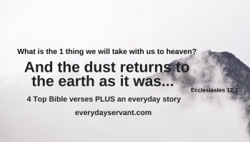10 Questions We Won't Ask In Heaven - Everyday Servant