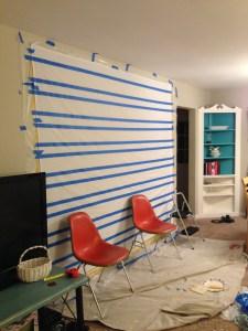 Painting Curtains :: EverydaySmallThings.com