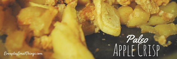 Apple Crisp | EverydaySmallThings.com
