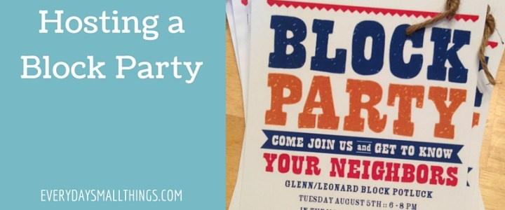 Block Party :: EverydaySmallThings.com