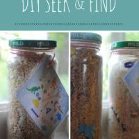 DIY Seek and Find