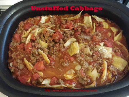 Unstuffed Cabbage