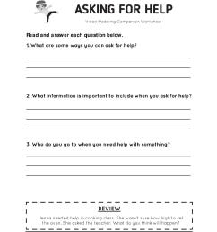 Lesson Plan: Asking for Help - Everyday Speech [ 1408 x 1088 Pixel ]