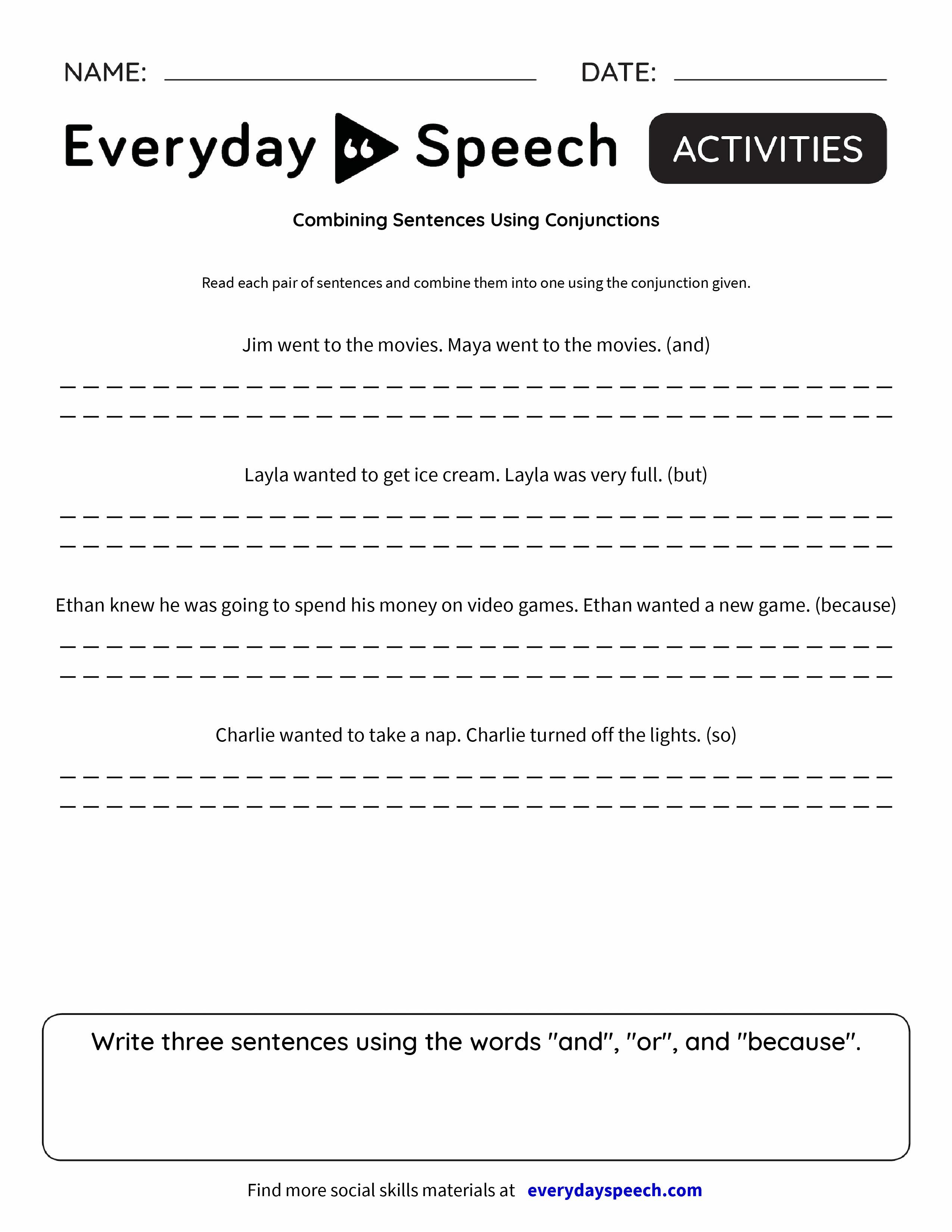 hight resolution of https://dubaikhalifas.com/combine-the-sentences-using-conjunctions-worksheet/