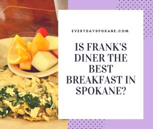 image of veggie breakfast omelette at frank's diner