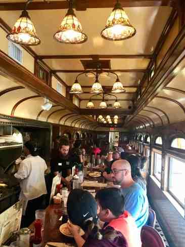Image of inside of Frank's Diner on Newport Highway, Spokane