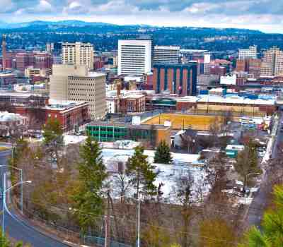 downtown spokane image