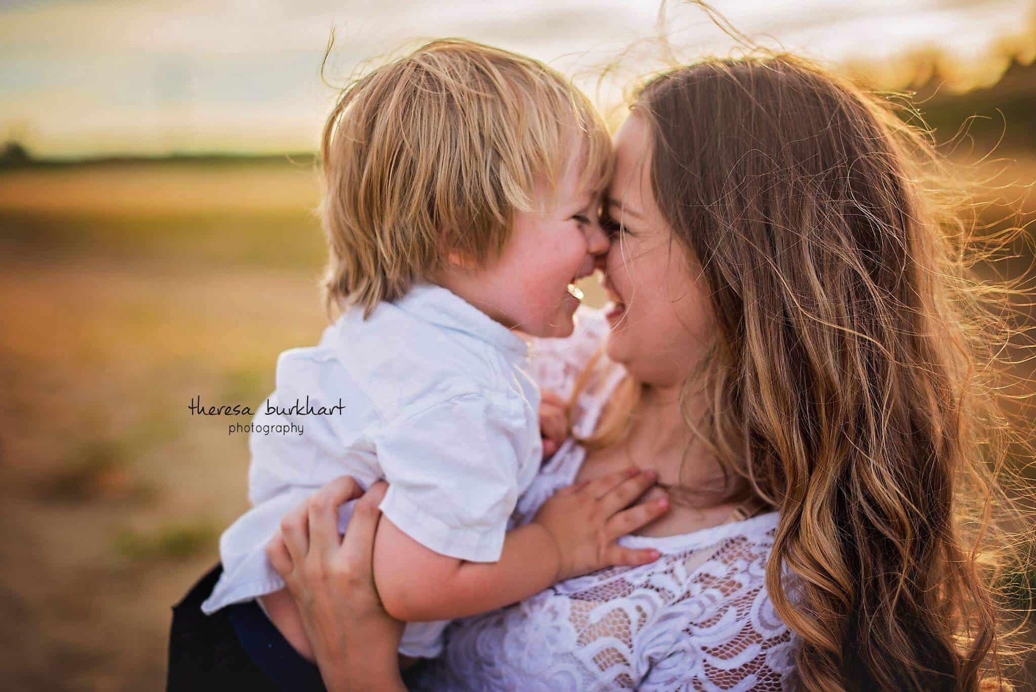 Family photo shoot from Theresa Burkhart Photography