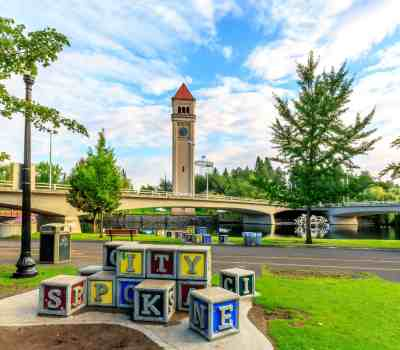 Downtown Riverfront Park in Spokane, WA