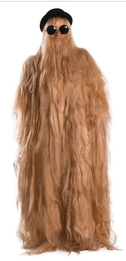 cold weather halloween costume idea: cousin itt