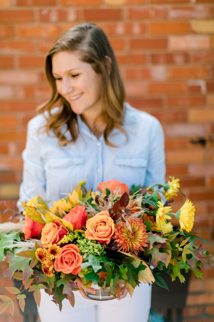 Friendsgiving, Everyday Tables, How To Plan Friendsgiving, Thanksgiving Table, RLove Floral, Trader Joe's Flowers