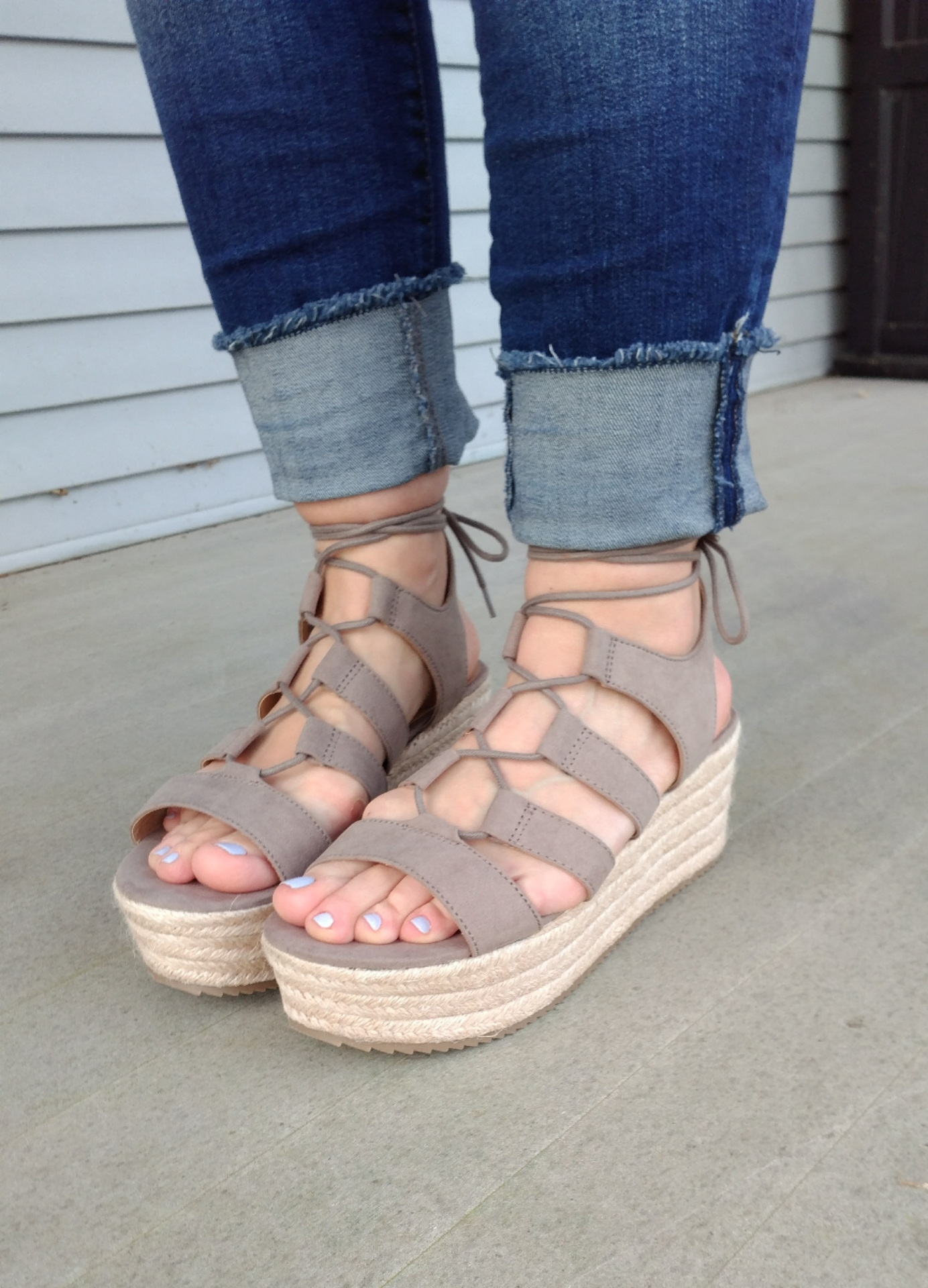 Budget Espadrille Wedge Sandals Everyday Teacher Style