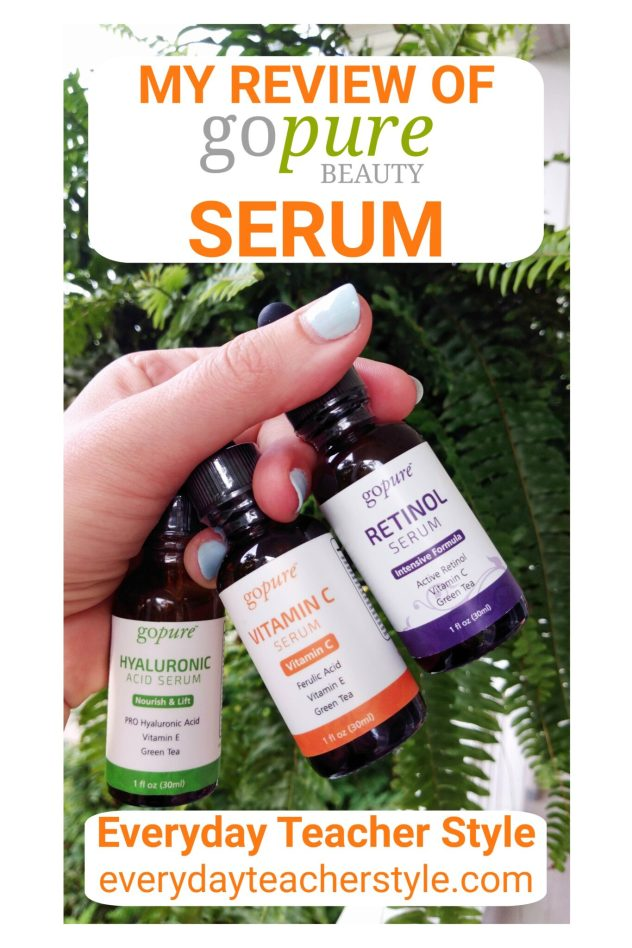 gopure beauty serum review