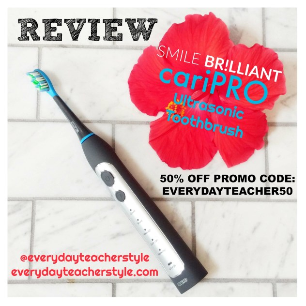 cariPRO Ultrasonic Toothbrush Review