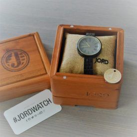 Jord Wood Watch Cassia Series Ebony