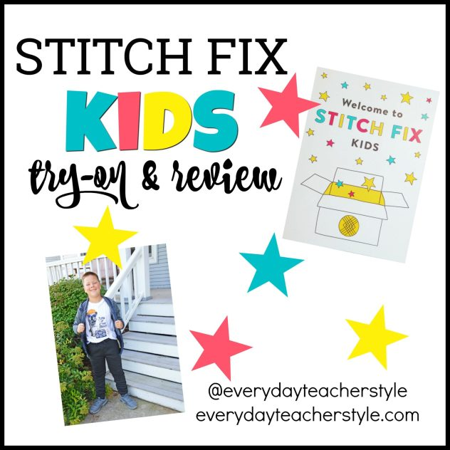 Stitch Fix Kids Review