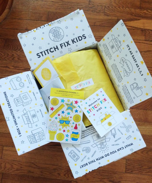 Stitch Fix KIDS Box Detail
