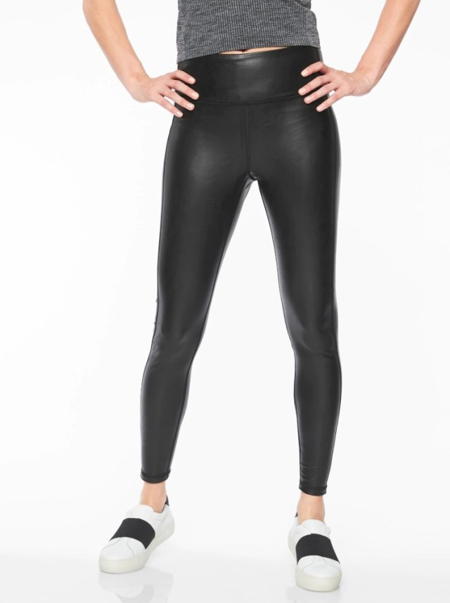 Athleta All Over Gleam Tight BLACK